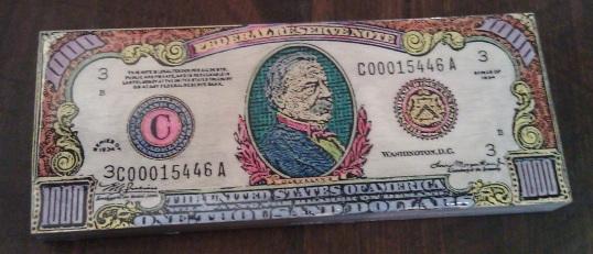 $1000 Dollar Bill